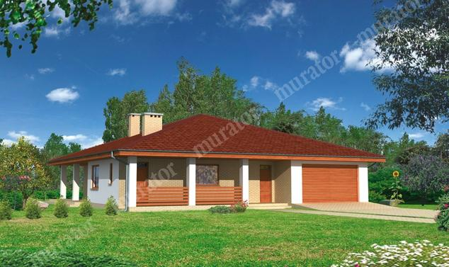 Projekt domu:  Murator C114a   – Znany - wariant I